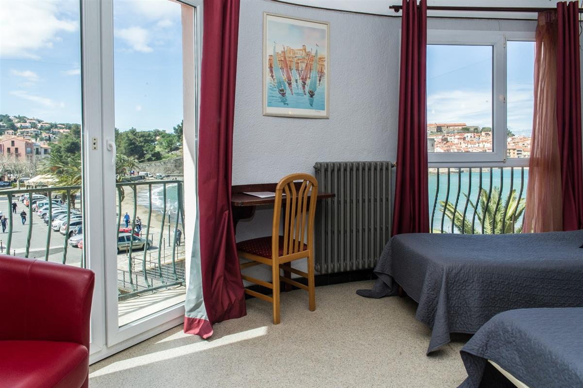 Chambres d\'hotel Collioure - Hotel 2 etoiles Collioure - Hotel Triton